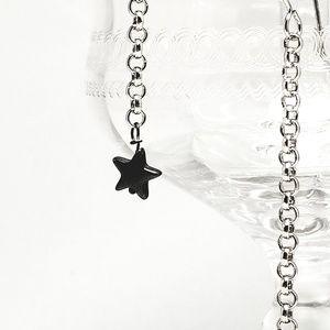 Jewelry - Hematite Star Shoulder Duster Earrings